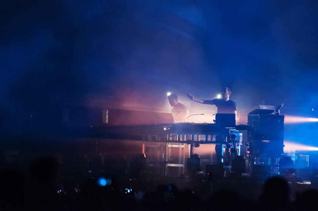 Le foto dei Chemical Brothers all'Hydrogen Festival a Padova