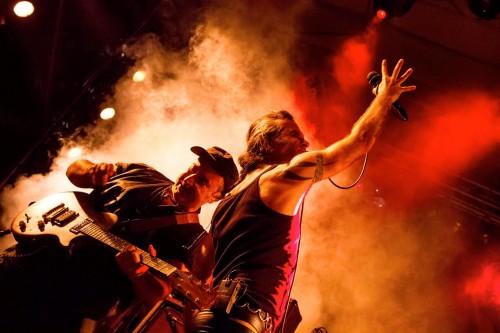 Litfiba, Tetralogia degli elementi tour, luglio 2015, Piero Pelù, Ghigo, live, concerto, Torino, Gru Village, foto, gallery, Daniele Baldi