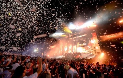Il palco di Isle of MTV Foto:Rene Rossignaud