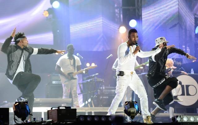 Jason Derulo sul palco di Isle of MTV - Ph: Rene Rossignaud