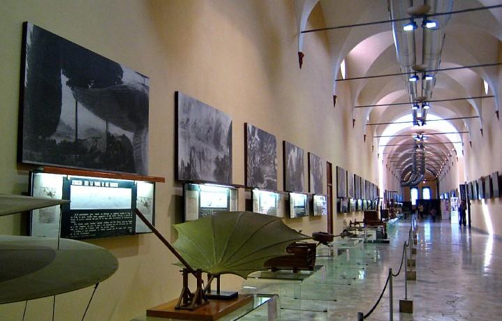 Il Video Sound Art si sta svolgendo nelle sale del Museo Leonardo da Vinci di Milano. Foto: Facebook