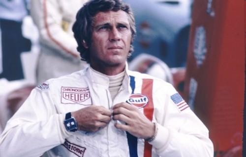 Il cronografo TAG Heuer Monaco originale indossato da Steve McQueen nel 1970 nelle riprese del Film 'Le 24 Ore di Le Mans'