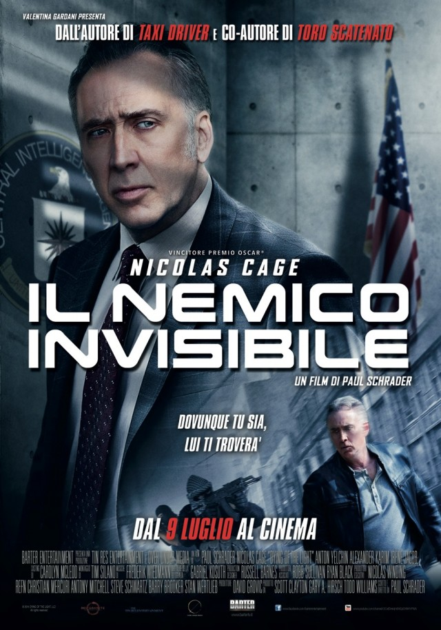 """La locandina del film """"Il Nemico Invisibile"""", in uscita il 9 luglio al cinema"""