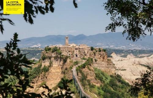 """Civita di Bagnoregio, meno di 10 abitanti, ha ospitato """"La Città Incantata"""". Fonte: Facebook"""
