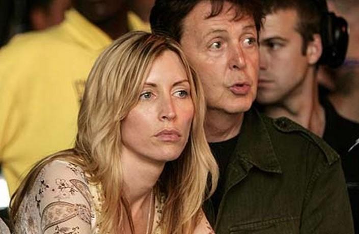 Heather Mills e Paul McCartney - foto via Youtube