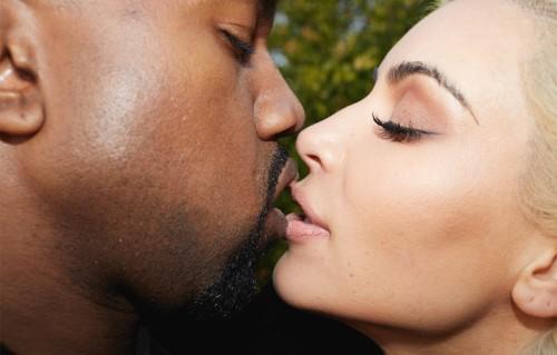 """La copertina del booklet """"Kanye, Juergen and Kim"""" edita da System magazine"""