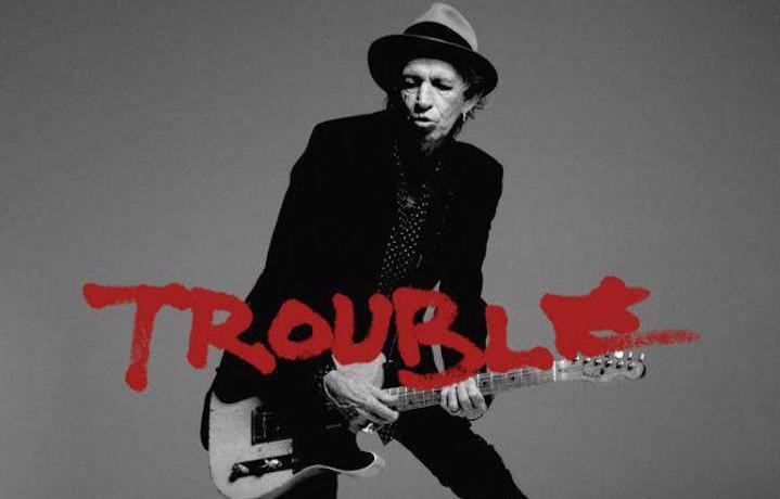 """""""Trouble"""" è il nuovo singolo di Keith Richards da solista dopo 23 anni"""