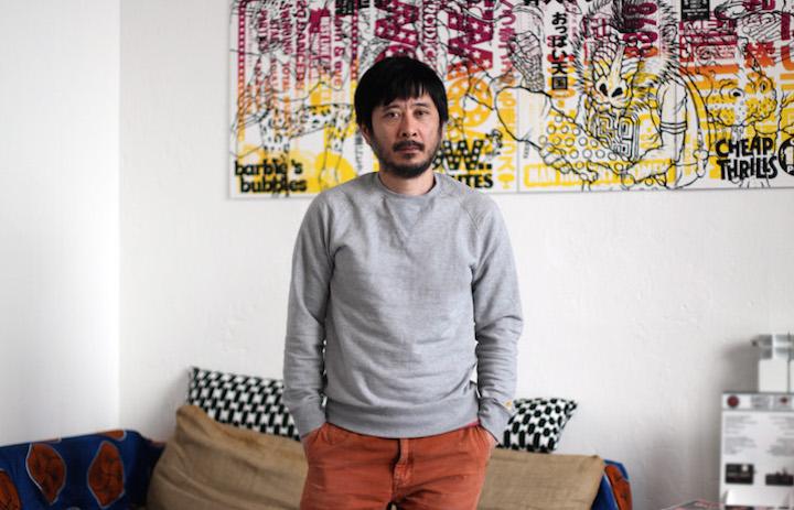 Un ritratto di Koji Yamaguchi - Foto di Marco Annunziata