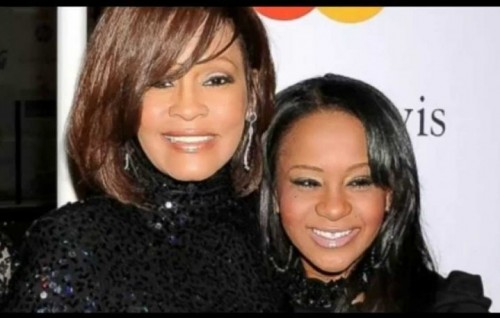 Whitney Houston con la figlia Bobbi Kristina Brown