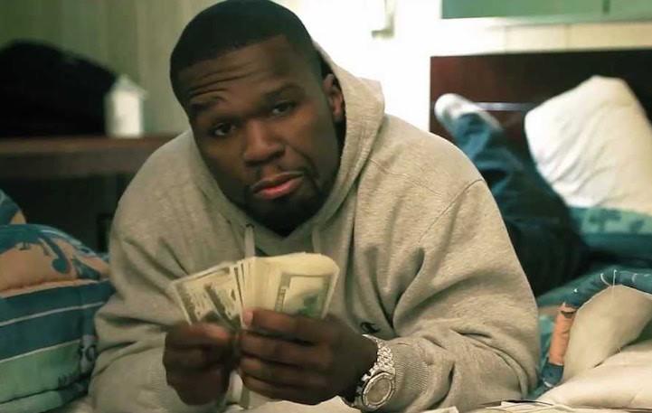 50 Cent che conta i soldi