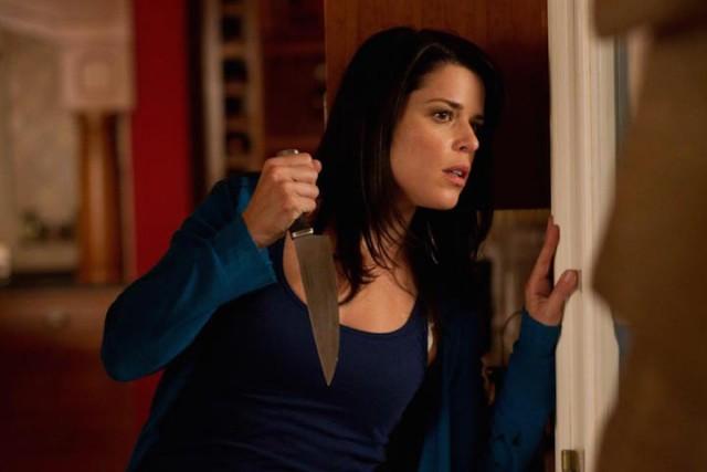 "Neve Campbell in ""Scream 4"""