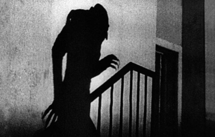 Il temibile vampiro Nosferatu, frutto della mente di Murnau
