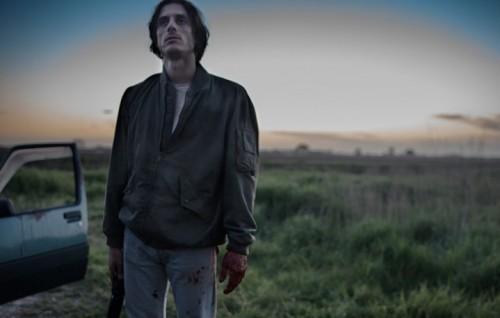 """Luca Marinelli sul set di """"Non Essere Cattivo"""""""