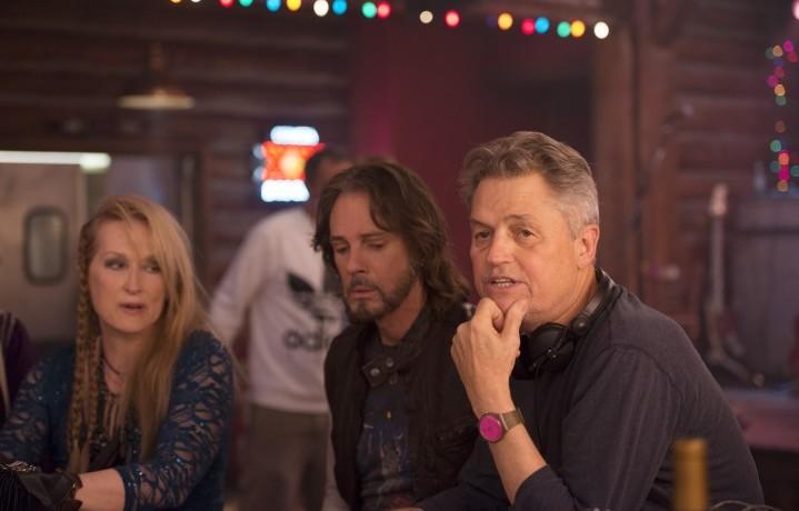 Meryl Streep, Rick Springfield e il regista Jonathan Demme