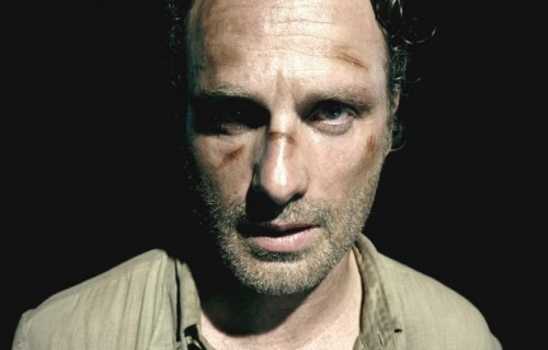"Rick Grimes, protagonista della serie tv ""The Walking Dead"", interpretato da Andrew Lincoln"
