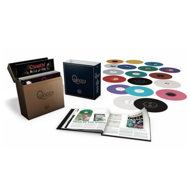 """""""Queen: the studio collection"""", in uscita il 25 settembre la ristampa in tiratura limitata e su vinile colorato"""