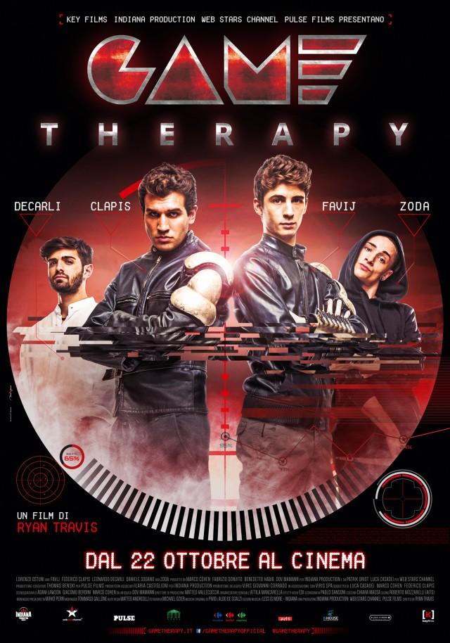 """La locandina di """"Game Therapy"""", il film in uscita il 22 ottobre"""