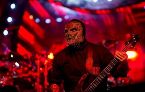 Vman è il bassista degli Slipknot dal 2014. Fonte: Facebook