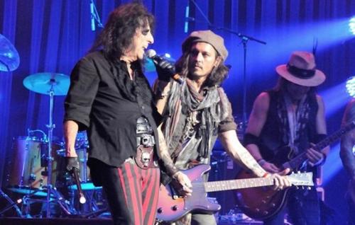 Alice Cooper e Johnny Depp live, foto sito ufficiale