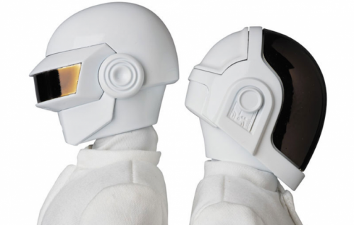 Le action figures dei Daft Punk