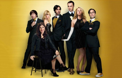 "Il cast di ""The Big Bang Theory"""