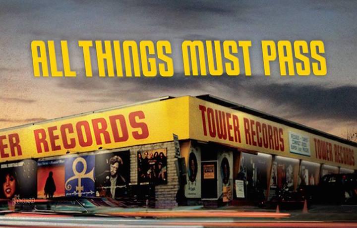 Lo storico store della Tower Records. Fonte: Facebook