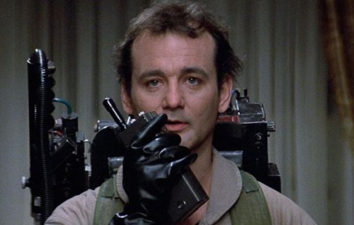 """Bill Murray in """"Ghostbusters"""", il film diretto da Ivan Reitman nel 1984"""