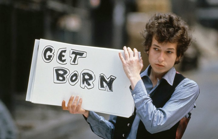 Bob Dylan a Londra, nel 1965. Foto: Tony Frank
