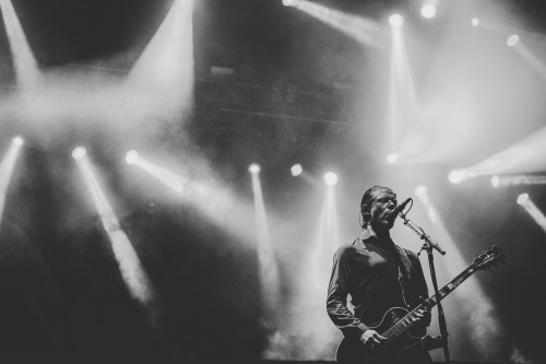 Interpol, El Pintor, Paul Banks, Roma, Rock in Roma, live, concerto, foto, gallery, Kimberley Ross