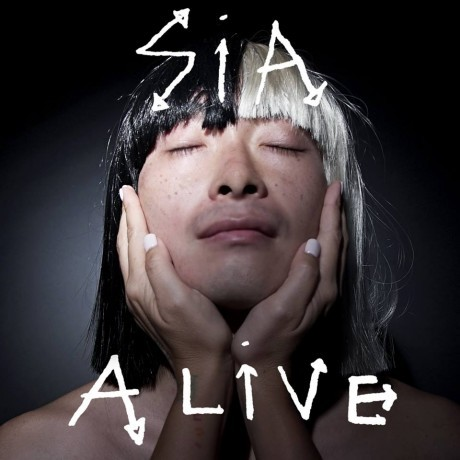 La cover di Alive, il nuovo singolo di Sia