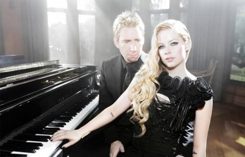 Chad Kroeger e Avril Lavigne. Foto: Facebook