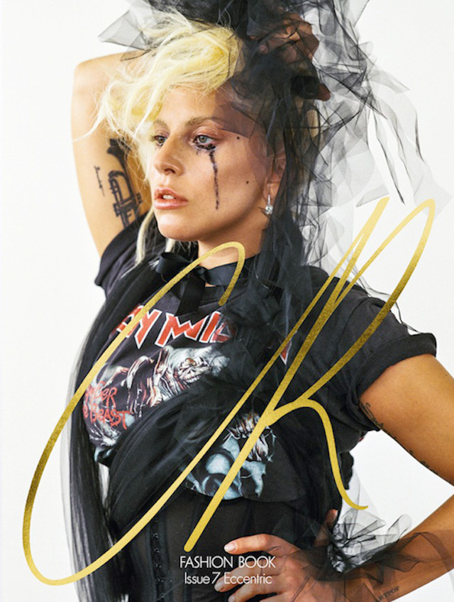 Lady Gaga sulla copertina di CR Fashion Book, il magazine semestrale di Carine Roitfeld
