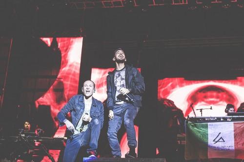 Linkin Park, Rock in Roma, live, concerto, 6 settembre 2015, Capannelle, foto, gallery, Giulia Razzauti, Chester Bennington, Mike Shinoda