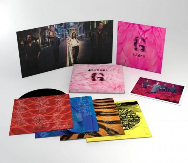 La versione Deluxe di Garbage 20th Anniversary, in uscita il prossimo 2 ottobre