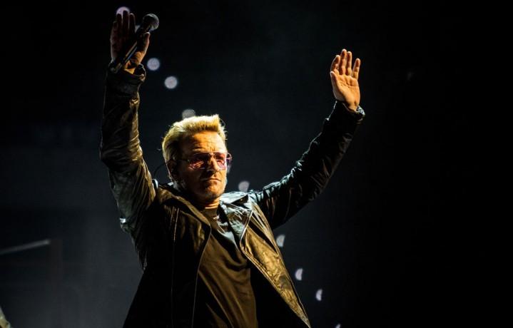 U2, Bono, The Edge, concerto, live, Torino, 4 settembre 2015, foto, gallery