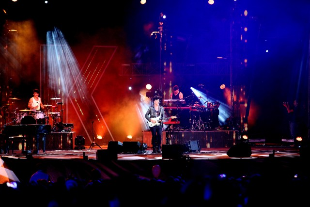 11 settembre 2015, Open Air Theatre di Expo 2015 a Milano. The Kolors - Foto di Mourad Balti