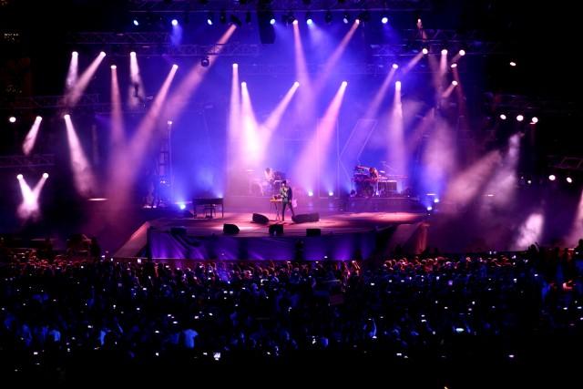 The Kolors, le foto del concerto dell'11 settembre 2015 all'Open Air Theatre di Expo 2015 a Milano - Foto di Mourad Balti