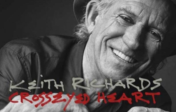 """""""Crosseyed Heart"""", il nuovo album di Keith Richards in uscita il 18 settembre 2015"""