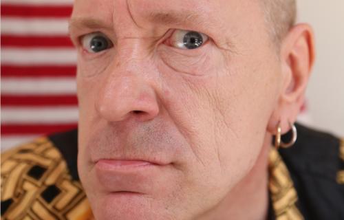 John Lydon a.k.a. Johnny Rotten fotografato da Magdalena Wosinska