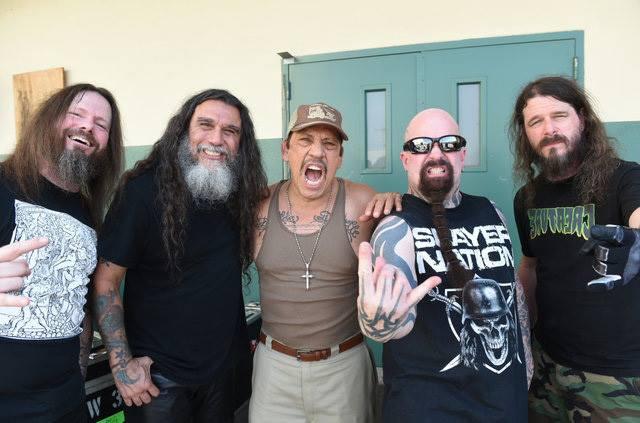 """Nel primo video estratto da  """"Repentless"""" c'è anche una scena degli Slayer con Danny Trejo!"""