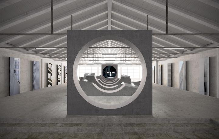 Un'anteprima della Tubular Gallery di adidas