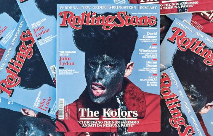 The Kolors sulla copertina di Rolling Stone, in edicola dal 10 settembre