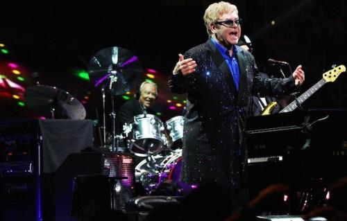 Elton John, vittima di uno scherzo telefonico. Foto: Melanie Escombe