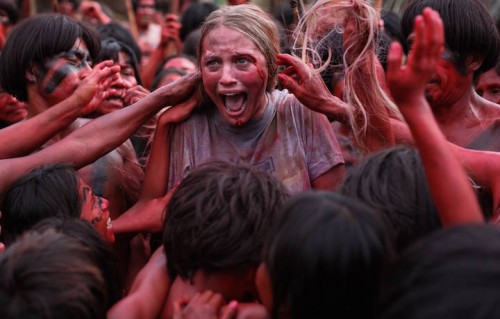 """The Green Inferno"" arriva al cinema giovedì 24. Fonte: Facebook"