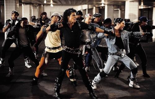 """Un frame di """"Bad"""" di Michael Jackson, diretto da Martin Scorsese"""