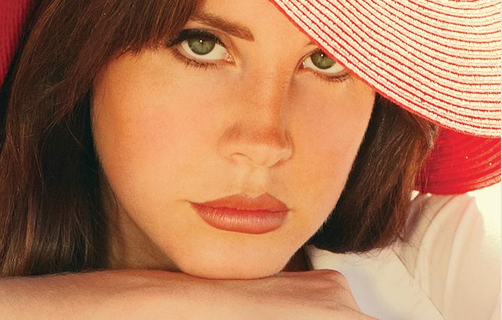 """Un dettaglio della cover del vinile di """"Honeymoon"""""""