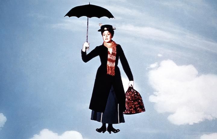 Julie Andrews nel film originale del 1964