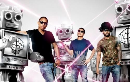 I N.E.R.D. sono Pharrell Williams, Chad Hugo dei The Neptunes e Shae Haley. Foto: Facebook
