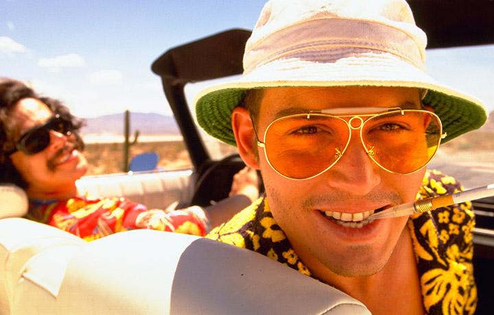 "Johnny Depp in ""Paura e deliro a Las Vegas"""