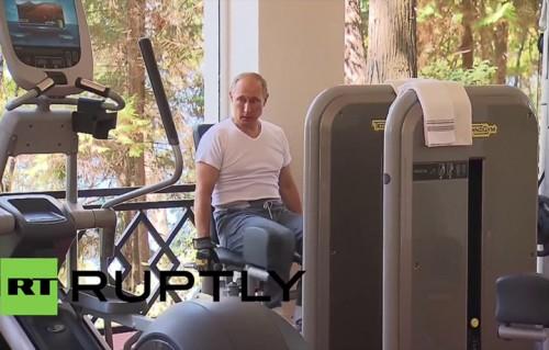 Qual è la colonna sonora migliore per il video in palestra di Putin?